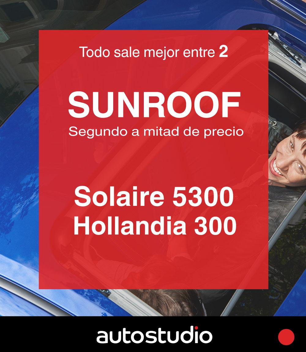 2x1 sunroof